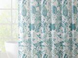 "Shower Curtain Bath Rug Set 14 Piece Shower Curtain and Bath Rug Set Curtain Hooks Included ""belize"" Blue"