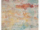 Shugart Sealife Blue area Rug Celestial Ces02 Sealf Celestial area Rugs