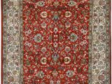 Silk area Rugs for Sale Red All Over Kashan Silk area Rug