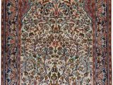 Silk area Rugs for Sale Tree Of Life Silk On Cotton Persian Design Small area Rugs