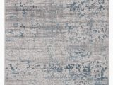 Silver and Blue area Rugs Alvah Medallion Blue Silver area Rug