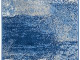 Silver and Blue area Rugs Costa Mesa Abstract Silver Blue area Rug