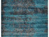 Silver and Blue area Rugs Costales Silver Blue area Rug