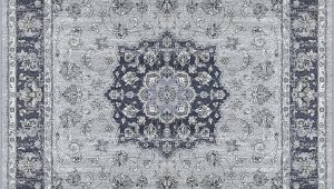 Silver and Blue area Rugs Dynamic Ancient Garden 9686 Silver Blue area Rug