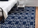 Silver and Blue area Rugs Unique Loom Marilyn Monroe Glam Textured area Rug 2 0 X 3 0 Navy Blue Silver