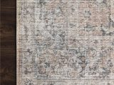 """Skye Blush Gray area Rug Skye Maybelle Rug Color Blush Gray Size 7 6"""" X 9 6"""" In"""