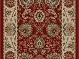 Small area Rugs with Rubber Backing Buy 5 X 7 Red New Tabriz Red Floral Design Rubber