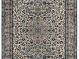 """Small Blue area Rugs E Of A Kind oriental Hand Knotted 6 9"""" X 10 4"""" Wool Blue area Rug"""