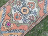 Small oriental Rug for Bathroom Small Lovely Vintage Turkish oriental Ruglow Pile Distressed