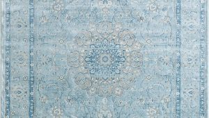 Soft Blue area Rug Dynamic Rugs isfahan 7255 509 Light Blue area Rug