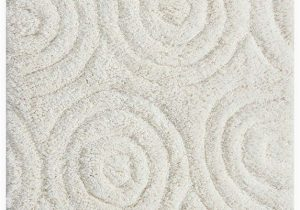 Soho Collection Bath Rugs Circles 17×24 Cotton Bath Rug Bedding