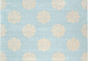 """Soho Collection Bath Rugs Safavieh soho Collection soh724a Handmade Turquoise and Yellow Premium Wool area Rug 7 6"""" X 9 6"""""""