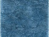 Solid Blue Wool Rug Infinity Collection solid Shag area Rug by Rugs – Blue 9 X 12 High Pile Plush Shag Rug Perfect for Living Rooms Bedrooms Dining Rooms and More