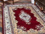 Solid Burgundy area Rugs 8×10 8 X 10 Nain Design Rug