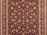 Solid Burgundy area Rugs 8×10 Rugsource Burgundy Agra Traditional Hand Knotted oriental area Rug 8×10 Walmart