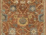 Solid Color area Rugs Lowes Durkee Rust Gold area Rug