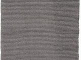 Solid Grey area Rug 5×7 solid Grey Hand Woven Washable Flatweave Eco Cotton Rug 6 X