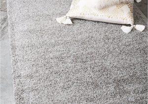 Solid Grey area Rug 8×10 Unique Loom solid Shag Collection Cloud Gray 8 X 10 area Rug