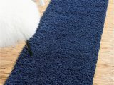 Solid Navy Blue Runner Rug Bravich Rugmasters Navy Blue Runner Rug 5 Cm Thick Shag Pile soft Shaggy area Rugs Modern Carpet Living Room Bedroom Mats 60 X 230 Cm 2 3 X 8 0
