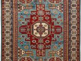 """Solid Red 5×7 area Rug Shirvan area Rug5 5"""" X 7 0"""""""