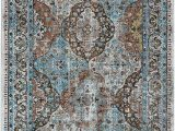 Somerset Home Geometric area Rug Grey and White Amazon Lr Home Bright Tabriz area Rug 5 X 8 Blue