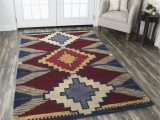 Southwest Style Large area Rugs Rizzy Home southwest Su9010 Multi Colored southwest Tribal