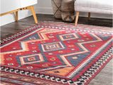 Southwestern area Rugs for Sale Shop Nuloom Burgundy Wool Handmade southwestern Tribal