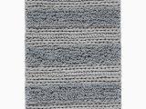 Sunham Cotton Bath Rug Sunham Cascada Home Cotton Jersey Stripe Accent Rug