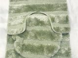 Super soft Bath Rugs Luxurious Super soft 3 Piece Bath Rug Set In Pistachio From Papiyona fort Bay