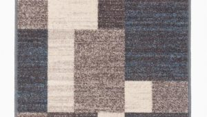 Taira Block Blue Gray area Rug Brighouse Geometric Blue Gray area Rug