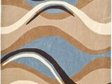 Tan and Blue area Rug 8×10 8—10 Outdoor Rug Blue – Autoiq