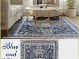 Target Blue and White Rug Instantly Update and Refresh Any Living Space In Your Home