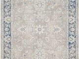 Taupe and Blue Rug Cecily Rug In Taupe & Blue Joss & Main