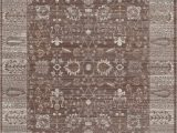 Taupe and Brown area Rug Carmella Brown Taupe area Rug