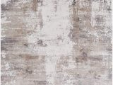"Taupe and White area Rug Amazon Greencreek Contemporary Abstract 9 6"" X 13"
