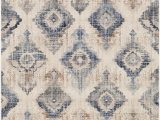 Taupe and White area Rug Wimbush oriental Taupe White area Rug