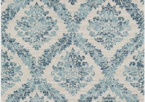 Teal and Blue Rug Delana Geometric Dark Blue Teal area Rug