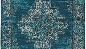 Teal and Blue Rug Signature Design by ashley Moore Traditional area Rug 8 X 10 Blue Teal