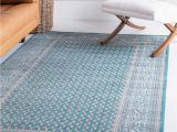 Teal and Brown area Rug 8×10 4 X 6 Tribeca Rug