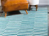 Teal and Brown area Rug 8×10 8 X 10 Tribeca Rug