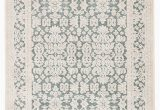 """Teal and Ivory area Rugs Regal Damask Teal Ivory area Rug 7 6""""x9 6"""""""