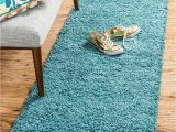 Teal Blue Shaggy Rug Bravich Rugmasters Teal Blue Runner Rug 5 Cm Thick Shag Pile soft Shaggy area Rugs Modern Carpet Living Room Bedroom Mats 60 X 230 Cm 2 3 X 8 0