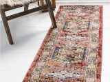 Terra Cotta Colored area Rugs Nathanson Terracotta Persian Inspired Red Beige Blue area Rug