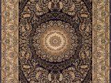The Bursa Collection area Rugs Couristan Antalya 2946 0101 Bursa Noir Cream Closeout area Rug Rugs A Bound