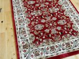 Thick Carpet Pad for area Rugs Small Xx Large Red Border Traditional Classic Thick Luxury soft Wool Look Persian Look area Rugs Heavy Quality area Rug soft Carpet Non Shed Hall