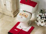 Toilet Seat Cover and Rug Bathroom Set Amazon Eubest New Hot Happy Santa toilet Seat Cover and