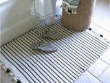 Toledo Stripe Bath Rug Sadek Bath Mat
