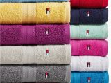 Tommy Hilfiger White Bath Rug tommy Hilfiger All American Ii Cotton Bath towel Collection