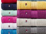 Tommy Hilfiger White Bath Rug tommy Hilfiger All American Ii Cotton Bath towel