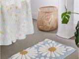 Top Rated Bath Rugs Daisies Tufted Bath Mat